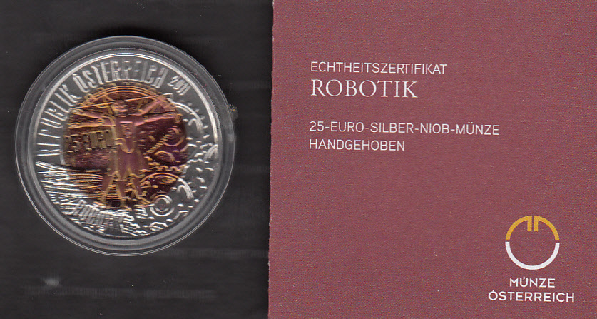 Euromuenzen Silber U Gold Anlagemünzen Schilling Euro Niob